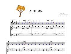 BOOMWHACKERS SCORE AND AUDIO FILE. AUTUMN. Third movement.Allegro VIVALDI