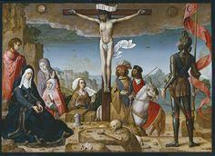 """Crucifixion"" Juan de Flandes, 1509-1518Imagen"