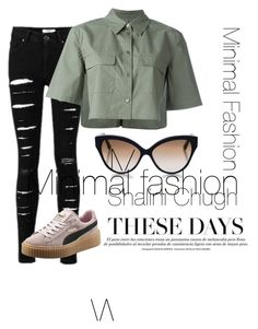 """""""Minimal"""" by shalinisemail on Polyvore featuring Equipment and Cutler and Gross"""