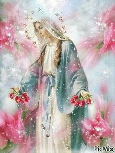 Prayer To Mother Mary — Theresa Monro Mama Mary, Blessed Mother Mary, Divine Mother, Blessed Virgin Mary, Virgin Mary Art, Catholic Art, Religious Art, Image Jesus, Immaculée Conception