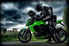 Shop Motocross t-shirts. Biker Couple, Motorcycle Couple Pictures, Motocross, Biker Chick, Biker Girl, Racing Moto, Er6n, Biker Love, Bike Photoshoot