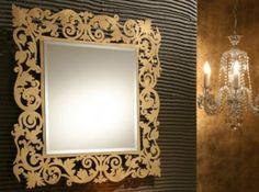espelhos decorativos em acrílico - Fotos de Decoração