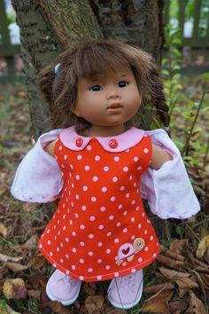 Bonjour à toutes !  et oui encore elle !!! je sais que vous l'aimez ma petite Garance et moi aussi . Lui coudre de petits...