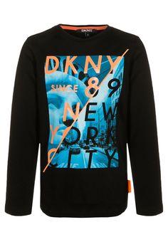 DKNY Langarmshirt - schwarz - Zalando.de
