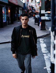 Rami Malek wearing Gosha Rubchinskiy - Album on Imgur