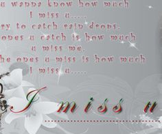 The ones u miss i how much i miss u lover mine quotes » My Lovely Quotes