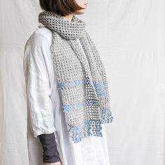 クロッシェマフラー 編み物キットオンラインショップ・イトコバコ