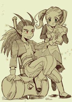 Dragon Quest 2, Dragon Warrior, Terraria, Human Art, Anime Chibi, Anime Love, Akira, Game Art, Video Game