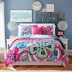 Buy Kimberly 4-Piece Reversible Full/Queen Comforter Set in White/Pink from Bed Bath & Beyond