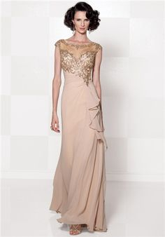 Mother of the groom dress for blush/champagne palette.