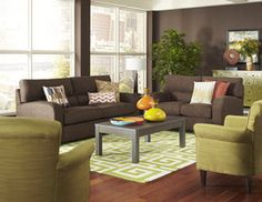 Charlie Living Room with Dorian Tables