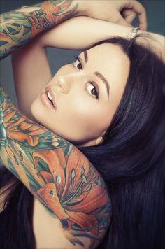 love her tattoo