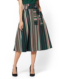 20be70909cc66 Shop 7th Avenue - Stripe Full Skirt. Find your perfect size online at the  best