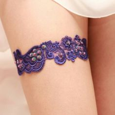 Inspitation for my future tattoo - a purple lace garter. Lace for lacy! & purple bcuz its my fav color and the color of my birthstone