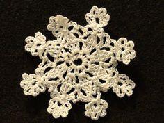 Crochet SnowFlake #6 | Crochet Geek