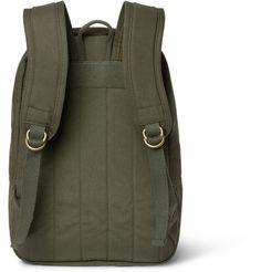 0c9d22dec113 Filson Journeyman Canvas Backpack Man Shop, Backpacks, Mr Porter, Canvas  Backpack, Men s