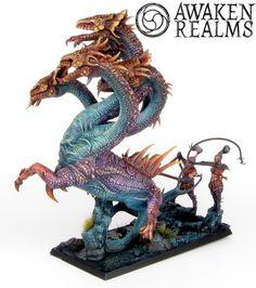 Dark Elves Hydra.