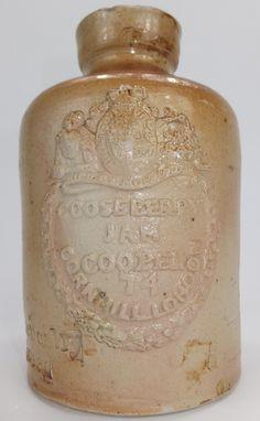 Small sized Gooseberries Stephen Green Cooper Jar 1830,s