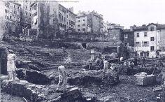 resti romani a Trieste | Trieste • View topic - Teatro Romano com'era