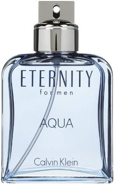 Calvin Klein Eternity Aqua Eau De Toilet Spray for Men, 6.7 Ounce by Calvin Klein. Recommended Use: daytime. Fragrance Notes: green leaves, white cedar, citrus, guaiac wood, water lotus, patchouli, Szechuan pepper, mirabelle, lavender, sandalwood, musk, chilled cucumber. Design House: Calvin Klein. The distinctive, romantic, and timeless fragrance of Eternity takes on a freshness and sophistication in the spirit of today's man with Eternity Aqua.