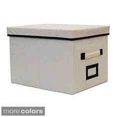 Decorative File Storage Boxes With Lids Gold Wastecan  School Storage And Organizing