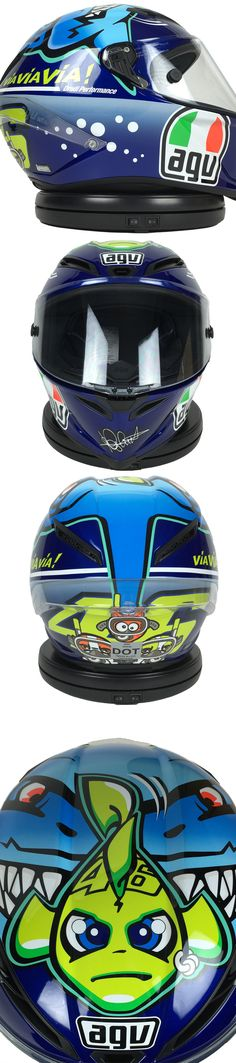 Valentino Rossi fans: the Limited Edition AGV Corsa Rossi Misano 2015 Shark Helmet is now available! Click through for more details!