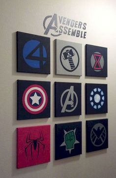 10 Best Marvel Avengers Wall Decor Ideas Who is not familiar with The Avengers? Set of superhero that is always awesome, especially with the joining my favorite superhero - 10 Best Marvel Avengers Wall Decor Ideas