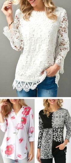I like the white one. Cut Up Shirts, Tie Dye Shirts, Look Fashion, Fashion Outfits, Womens Fashion, One Direction Shirts, Matching Couple Shirts, Casual Tops For Women, Party Shirts