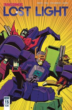 #Transformers: Lost Light #15 Comic Book Preview - SECRETS AND LIES!