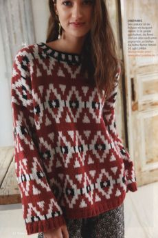 Knitting patterns pullover fair isles Ideas for 2019 Raglan Pullover, Pullover Sweaters, Crochet Christmas Stocking Pattern, Baby Cocoon Pattern, Fair Isle Knitting Patterns, Crochet Patterns, Knitting Accessories, Easy Knitting, Knitting Ideas