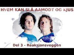▶ Ylvis - HKS Aamodt og Kjus - Reaksjonsveggen [English Subtitles] - YouTube
