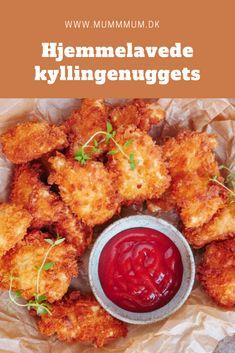 Chicken Nuggets, Chicken Wings, Grilled Chicken Recipes, Crispy Chicken, Teriyaki Chicken, Tandoori Chicken, Danish Food, Tasty Dishes, Quick Meals