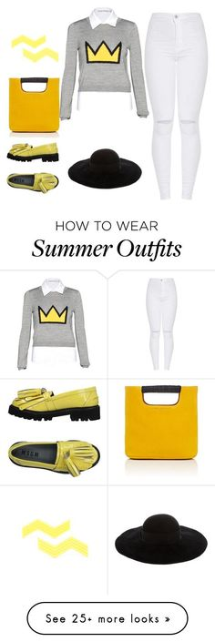Summer Outfits : Charlie brown by esha2232 on Polyvore featuring MSGM Simon Miller Alice  Ol