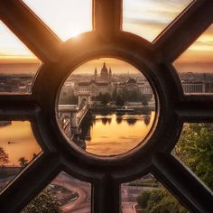 """""""I got up before the sun on a summer morning and made my way toward Buda Castle. I was in such a rush to get to the top"""