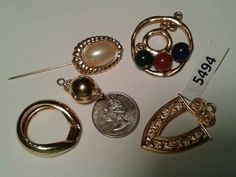 Vintage finding lot 5494 by TigersPlace on Etsy