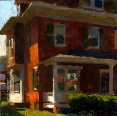 """(via The Art Room: An Interview with Jon Redmond)   """"It is not so much about how beautiful the landscape is to begin with but more how I can find beauty in something that is part of my everyday life."""""""