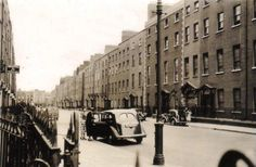 Lower Dominick Street, Dublin, mostly demolished and replaced with terrible flats, many of which have themselves been demolished. Dublin Street, Dublin City, Old Pictures, Old Photos, Ireland Homes, City Council, Book Of Life, Historical Photos, Ivy Rose