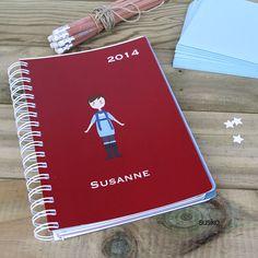 Agenda anual personalizada de susiko