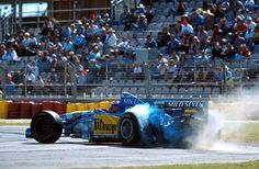 f1 Johnny Herbert Benetton - Renault 1995