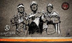 """""""Fanáticos"""" para el website del EP """"Fanáticos Club Band"""" de Jáuregui."""