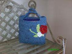 manualidades con bolsas plastico recicladas - Buscar con Google