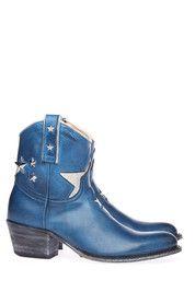 Blauwe Sendra boots 11088 enkelaarsjes