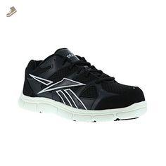 Reebok Men s Sport Grip Composite Toe Sneaker Black White 9.5 M - Reebok  sneakers for women ( Amazon Partner-Link) 09a09f566