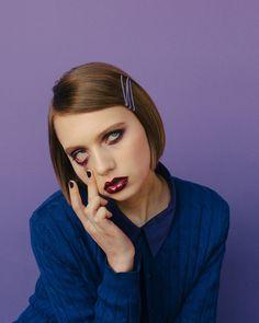 """April Issue of Nylon Magazine  """"Monochromatic"""" Photographed by Amanda Jasnowski."""