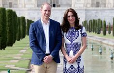 Prince William and Kate Middleton Honor Princess Diana With Stunning Visit to the Taj Mahal