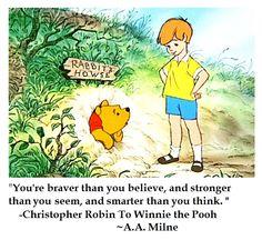 AA Milne on Character #quotes #winniethepooh