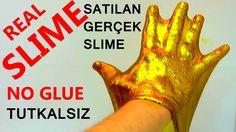 Satılan Slime Yapımı   Tutkalsız Slime Yapımı   Gerçek Slime Yapımı   Al...