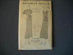 Butterick Pattern 4560 size 18 vintage 20's deadstock
