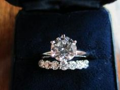 Tiffany & Co. Engagement ring make it square  and its mine