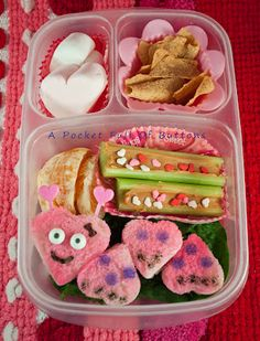 Love Bug Bento lunch